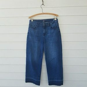 018b139b0d0 Old Navy Jeans - Old Navy High-Rise Wide-Leg Raw-Edge Jeans